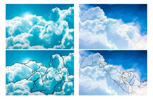 Cloud Draw by peritto