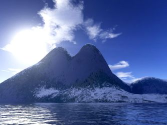 Chacaltaia Peaks by slave2rave