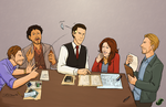 Inception - All Work, No Play by JadeRaven93