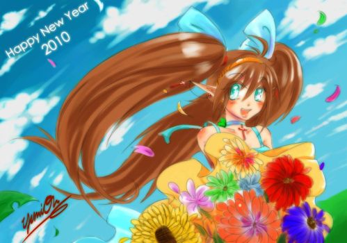 Happy New Year 2010 by Yumion