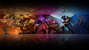 League of legends wallpaper - Ionia 2 (black) by Desvitio