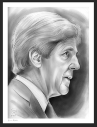 John Kerry by gregchapin