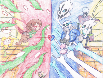 Unstoppable Force v. Immovable Object (v.UT) by thesoniczone11
