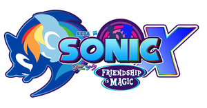 Commission : Sonic And MLP new logo by trungtranhaitrung
