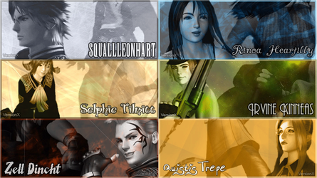 Final Fantasy VIII Banners by garciarael