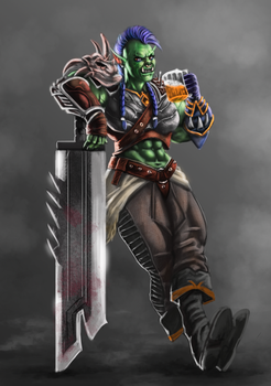 Orc | Commisssion by Hugo-Souza
