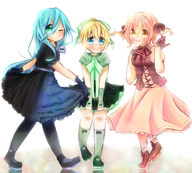 Dresses by CuteNikeChan