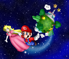 Mario's World by LaniLightning