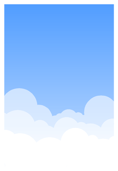 Cloud Background by Ovni-the-UFO