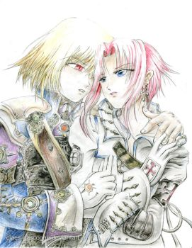 Trinity Blood - What is lust? by claes-gascogne