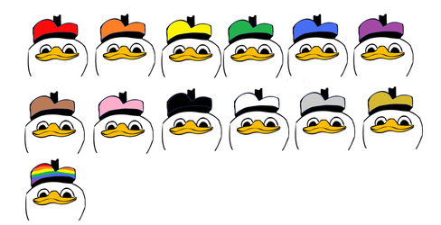 A Rainbow of Dolans by mrbill6ishere