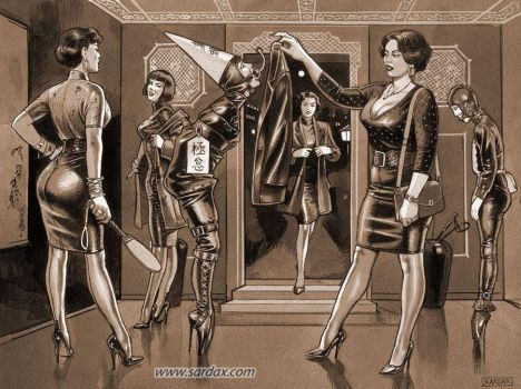 Our femdom world 5 by Menkillers