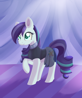 Regular Pony Drawing #15 - Coloratura by Dusthiel