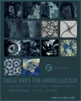 maps for mandelbulb3d vol.1 by mauxuam