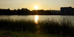 Another sunset in Bratislava by Sweny