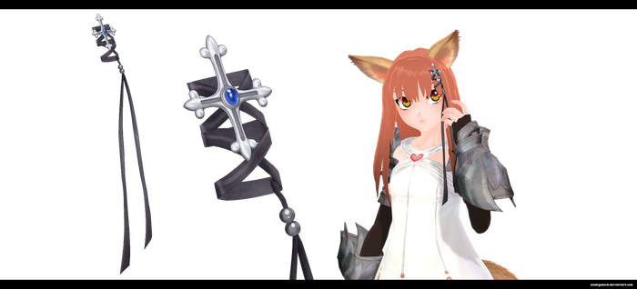 MMD: Cross hair piece by kaahgomedl