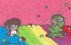 Ball Pit Monster(One Night at the Steeze) by Griffonmender