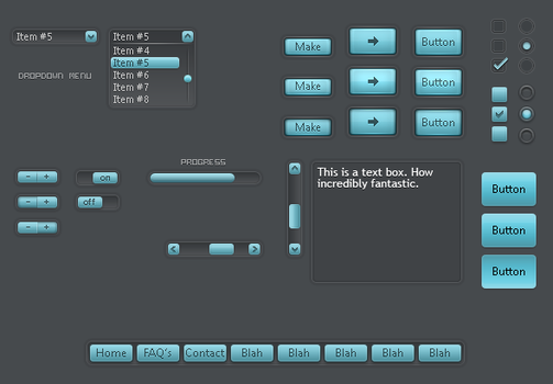 GUI Set: Cool Alloy by CheeseEnthusiast