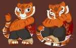 Two young Tigress by LittleChaCha