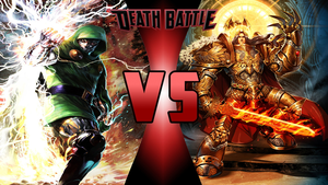 Doctor Doom vs The God Emperor of Mankind by Dynamo1212