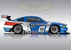 Ford Mustang GT3 by ArmageddonDesigns