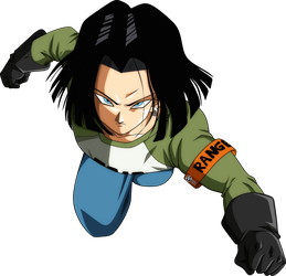 Androide 17 Universe Survival DBS by naironkr