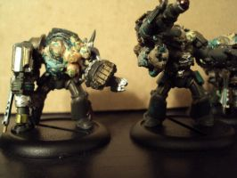 Nurgle Obliterators 3 by Halcenion