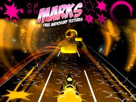 Marks, an Audiosurf texture pack based on MLP FIM by elevenbane