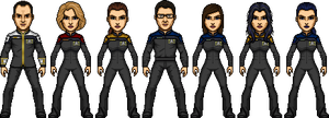 USS F. Scott Fitzgerald 2399 Crew by SpiderTrekfan616