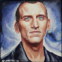 The Ninth Doctor: 50th Anniversary by napalmnacey