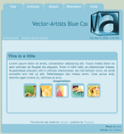 Vector-Artists Blue by vector-artists