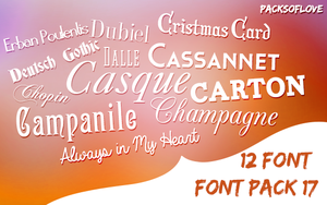 Font Pack #1 by yarencakir
