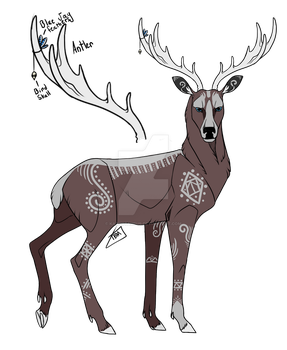Deer Custom for animaladopts4u by Magmosa