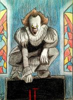 IT Pennywise by kingAragon