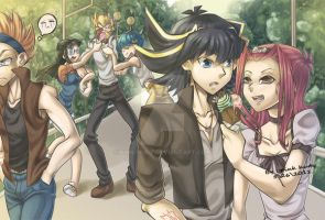 lovers ice-cream by pink-hudy