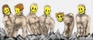 Smily face crowd_speed by DStraX