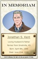 In Memoriam - Jonathan Kent by Roysovitch