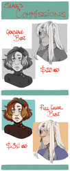 BOY HOWDY TIME FOR COMMISSIONS by SlackWater