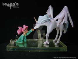 1/10 ChibiUsa and Pegasus Figure by LeonasWorkshop