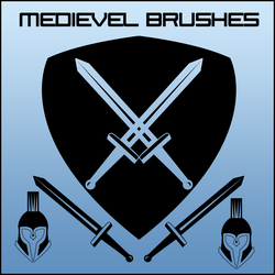 Medieval/Spartan Brushes by FinnSanity