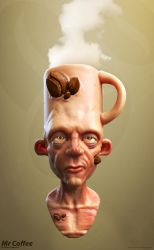 Mr Coffee by crazy-pixel
