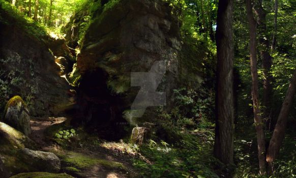 Sorcha's Caves by away-with-the-fae