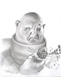 Angry Sontaran by DavidFolkie