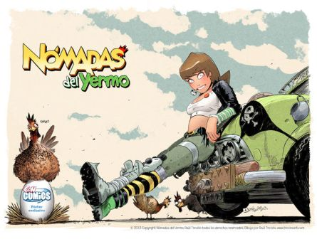 Milla Exclusive Poster ConComics by raultrevino