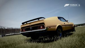 Ford mustang mach 1 (Eleanor) by RZ-028-Hellblaze