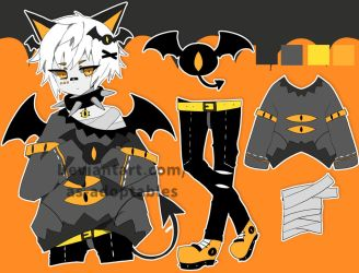 Bat kemonomimi adoptable closed by AS-Adoptables