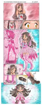 The Adventures of Sparkling Malika-chan! by YamPuff