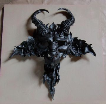 Welcome to Hell Baphomet mask by MidnightZodiac