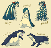 Pokemon Subspecies: Typhlosion