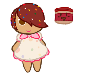 Frost Cookie And Chocolate Frosting by Toadettegirl123306